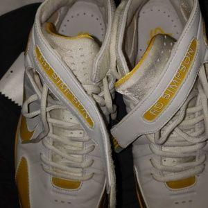 Nike Shoes - Nike air huarache 2k4 id white yellow 9.5
